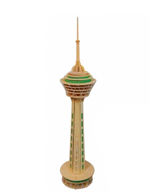پازل چوبی برج میلاد